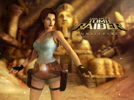 Tomb Raider Anniversary by Lerova