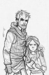 Floki and Angrboda 2 by CaptBexx