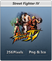 Street Fighter IV - Icon by Crussong