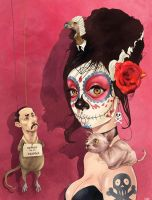 Catrina by QuilesART