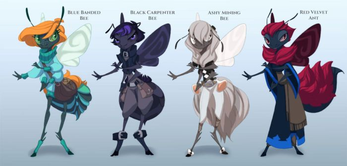 Fae Bugs batch 2!! (closed!) by painted-bees