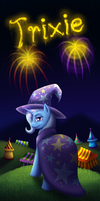 The Great And Powerful Trixie by Shrineheart