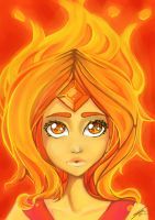 Flame Princess by enixyy