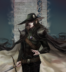 Vampire Hunter D by Meramii