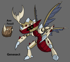 Pokemon BW3 2.0: Fossil Genesect