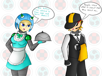 Mighty Number Maid and Butler by SnowmanEX711