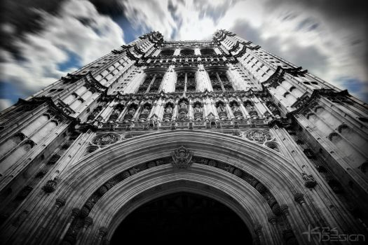 Houses of Parliament Victoria Tower by haz999