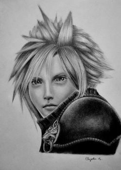 Cloud Strife by ChocoWay