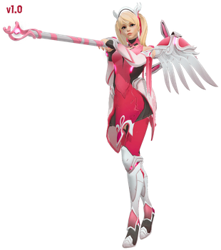 MMD - Mercy (Pink) Download by Togekisspika35