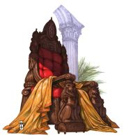 The Crimson Throne by Everwho