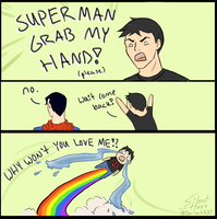 Superman Grab My... by Silent--Haze