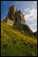 The Castle of Corfe by Wivelrod