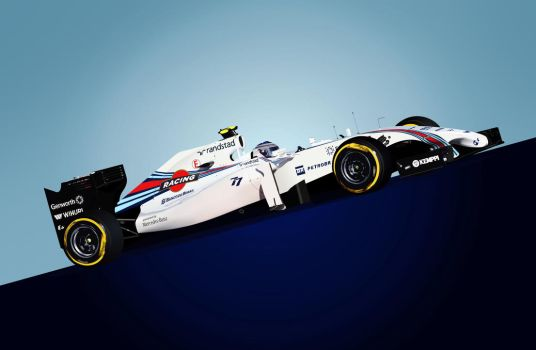 Williams FW36 by LyriquidPerfection