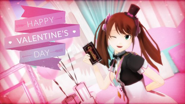 Cafe Parade Valentine's Day by AsrialTerra