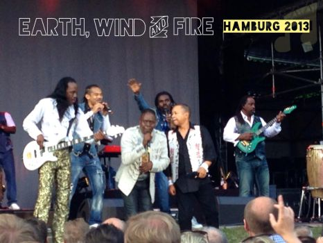Earth, Wind and Fire in Hamburg 2013! by T2norway