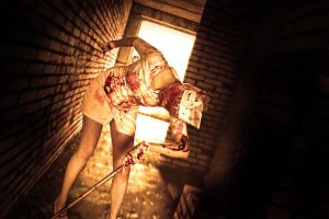 Silent Hill deadly nurse by 696Axel696