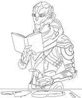 Vetra Tries Cooking | Lines by Miltonholmes