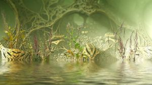 Jungle Swamp by HalTenny