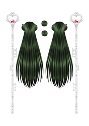 Sailor Pluto Paper Doll part 2 of 4 by starca