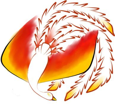 Phoenix Tattoo Design by ZoeQuinn