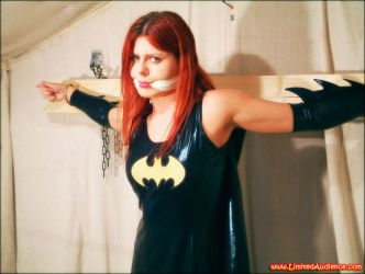 Gagged Batgirl by limitedaudience