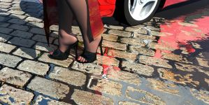 Stilettos and Cobbles by JohnMo