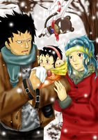 Fairy Tail - Your first winter by JeyHaily