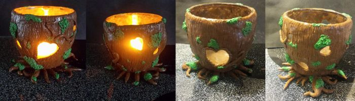 Trunk Candle Holder by keykaye