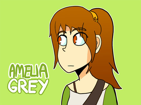 More Amelia Grey Design by MidnightFrog