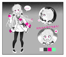 Practice #5 {Character Design Sheet} by lost-lillith