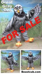Owl Fursuit For Sale by LilleahWest