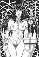 Dejah Thoris.. by vagnerskyblue