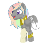 Vector commision for Silver Note on facebook by RainbowTashie