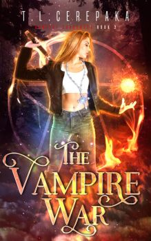 Book Cover: The Vampire War by arebg452