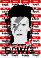 Hello my name is BOWIE by Evlisking