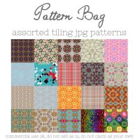 Pattern Bag by HGGraphicDesigns