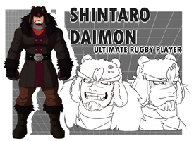 Shintaro Daimon by Wolf-con-f