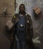 Omar Little by EthicallyChallenged