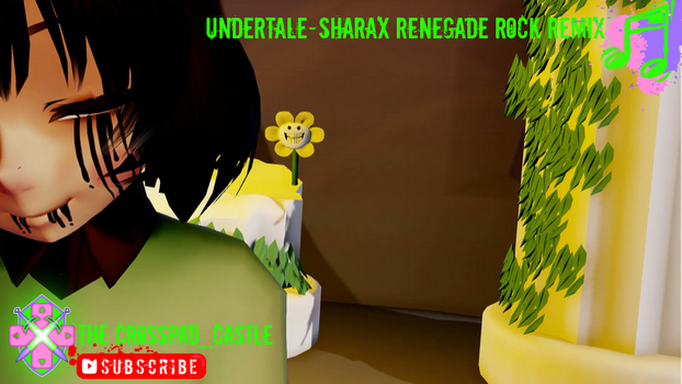 Undertale-SharaX Renegade3 by CrossPadCastle