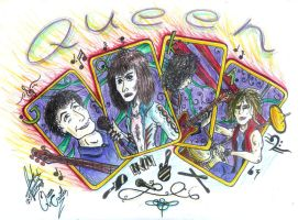 :: Queen Cards :: by royov