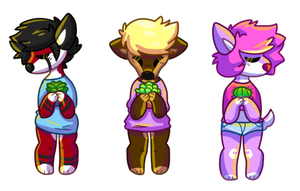 Adopts 30 points each! by itstheratking