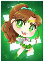 Chibi Sailor Jupiter by Bunnyloz