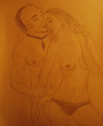 indian and admirer by ina