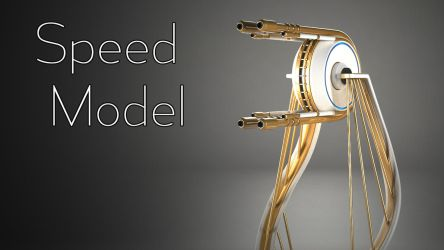 Turret - Speed model by curux
