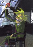 The Demons Naughty Barbers by stellinanera
