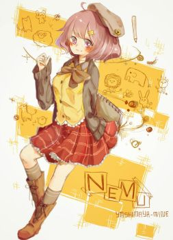 Art trade : Nemu by Yoshimaya
