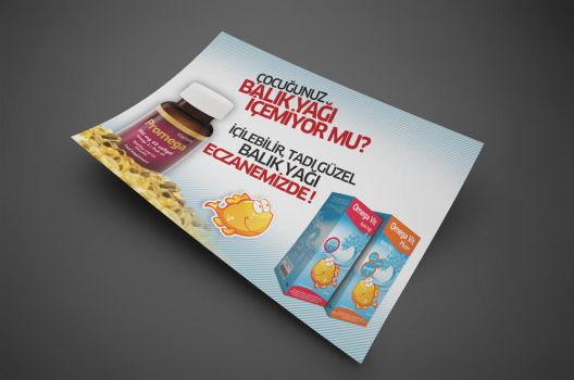 omegavit fish oil poster by ziyade