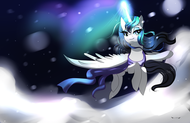 Winter Flight (Christmas Gift) by Kajeayn