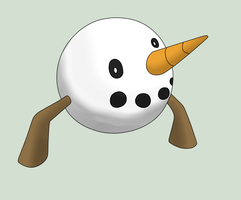 Fakemon - Froball by PokeboyD