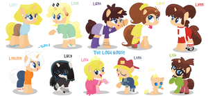 The Loud House (MLP) by Tuff--Rubies
